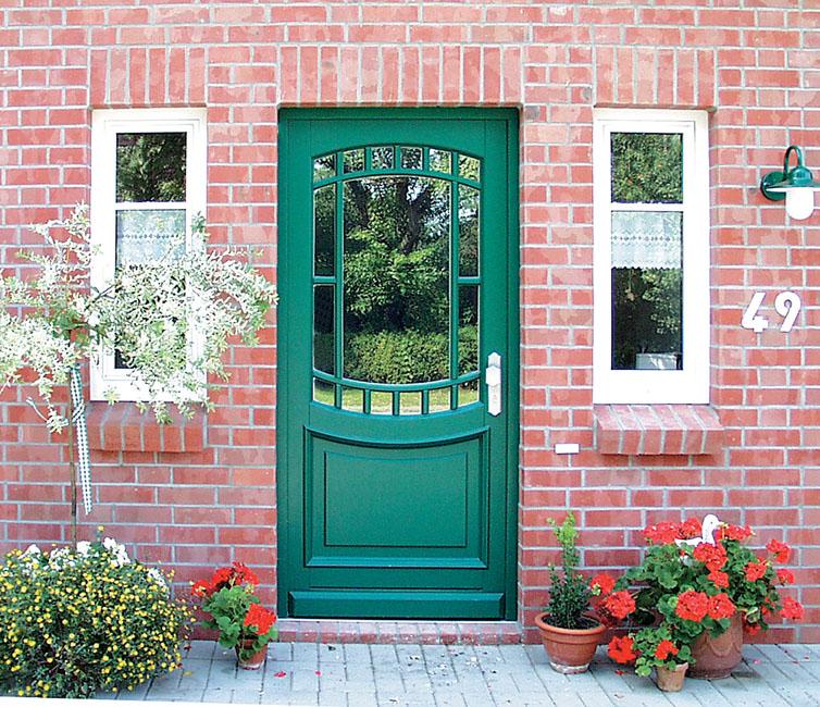 Haustüren landhausstil grün  Haustüren Brunkhorst, Haustüren aus Holz, Holzhaustüren ...