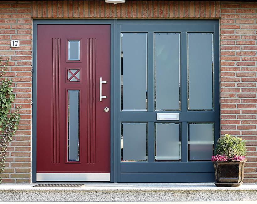 Haustüren holz mit seitenteil preise  Haustüren Brunkhorst, Haustüren aus Holz, Holzhaustüren ...
