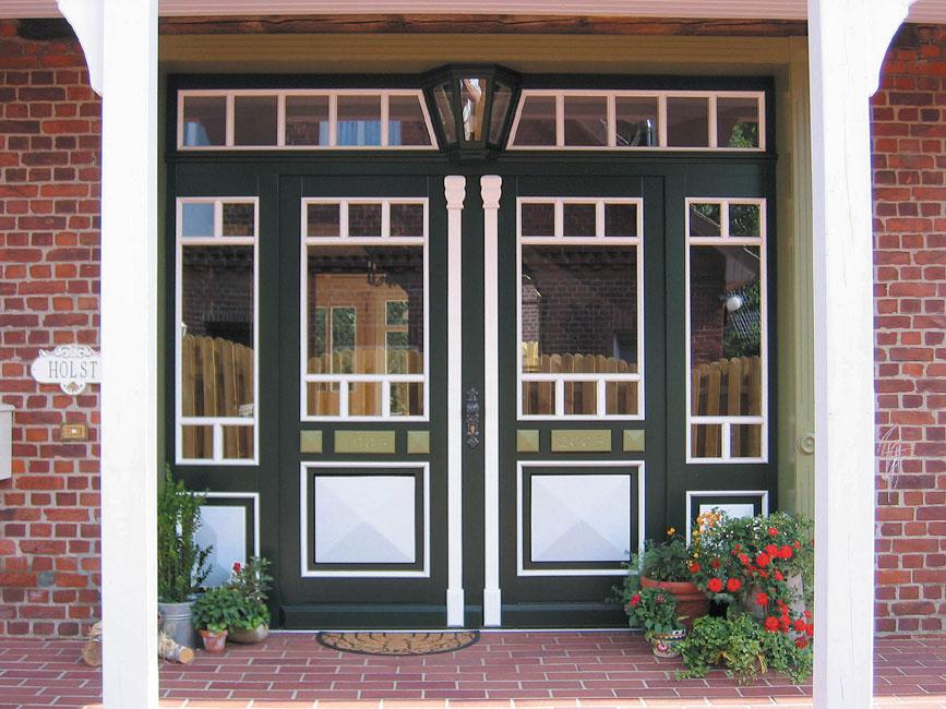 Haust ren brunkhorst haust ren aus holz holzhaust ren passivhaust ren haust ren aus holz - Fenster landhausstil ...